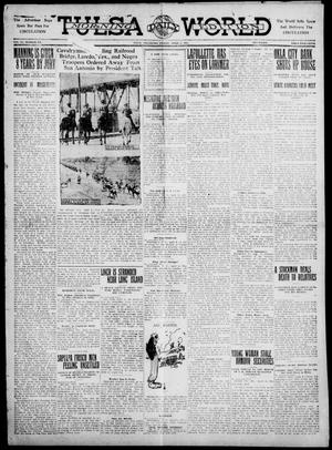 Primary view of object titled 'Tulsa Daily World (Tulsa, Okla.), Vol. 6, No. 171, Ed. 1 Friday, April 7, 1911'.