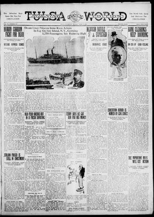 Primary view of object titled 'Tulsa Daily World (Tulsa, Okla.), Vol. 6, No. 173, Ed. 1 Sunday, April 9, 1911'.