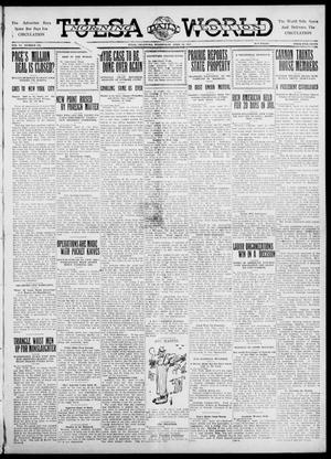 Primary view of object titled 'Tulsa Daily World (Tulsa, Okla.), Vol. 6, No. 175, Ed. 1 Wednesday, April 12, 1911'.