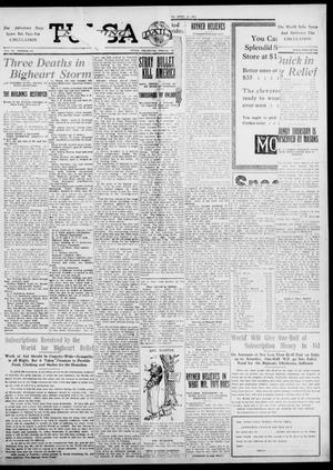 Primary view of object titled 'Tulsa Daily World (Tulsa, Okla.), Vol. 6, No. 177, Ed. 1 Friday, April 14, 1911'.