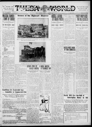 Primary view of object titled 'Tulsa Daily World (Tulsa, Okla.), Vol. 6, No. 178, Ed. 1 Saturday, April 15, 1911'.