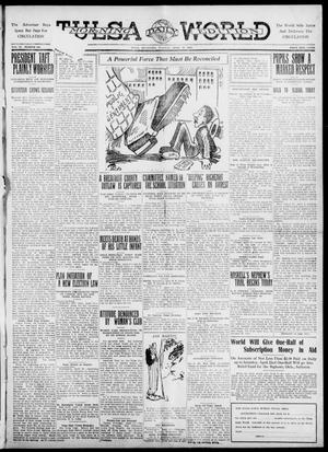 Primary view of object titled 'Tulsa Daily World (Tulsa, Okla.), Vol. 6, No. 180, Ed. 1 Tuesday, April 18, 1911'.