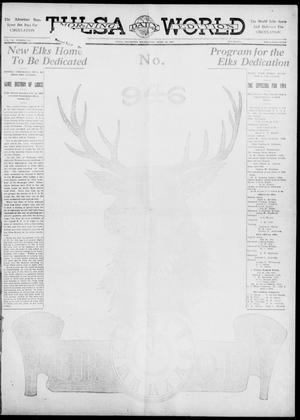 Primary view of object titled 'Tulsa Daily World (Tulsa, Okla.), Vol. 6, No. 181, Ed. 1 Wednesday, April 19, 1911'.