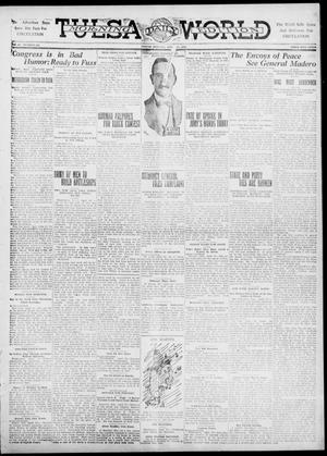 Primary view of object titled 'Tulsa Daily World (Tulsa, Okla.), Vol. 6, No. 183, Ed. 1 Friday, April 21, 1911'.