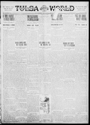 Primary view of object titled 'Tulsa Daily World (Tulsa, Okla.), Vol. 6, No. 185, Ed. 1 Sunday, April 23, 1911'.