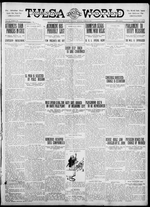 Primary view of object titled 'Tulsa Daily World (Tulsa, Okla.), Vol. 6, No. 190, Ed. 1 Saturday, April 29, 1911'.