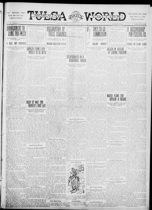 Primary view of object titled 'Tulsa Daily World (Tulsa, Okla.), Vol. 6, No. 191, Ed. 1 Sunday, April 30, 1911'.