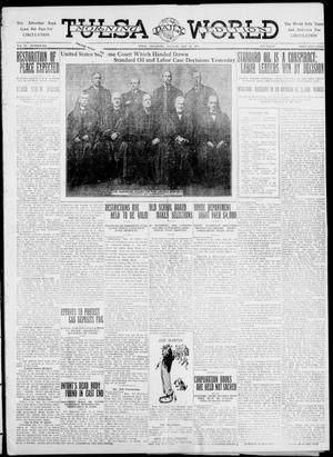 Primary view of object titled 'Tulsa Daily World (Tulsa, Okla.), Vol. 6, No. 203, Ed. 1 Tuesday, May 16, 1911'.