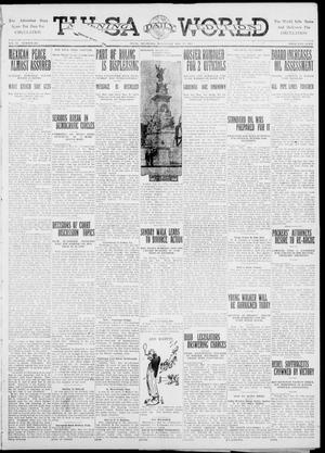 Primary view of object titled 'Tulsa Daily World (Tulsa, Okla.), Vol. 6, No. 204, Ed. 1 Wednesday, May 17, 1911'.