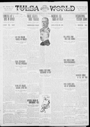 Primary view of object titled 'Tulsa Daily World (Tulsa, Okla.), Vol. 6, No. 205, Ed. 1 Thursday, May 18, 1911'.