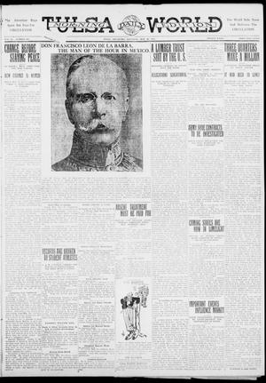 Primary view of object titled 'Tulsa Daily World (Tulsa, Okla.), Vol. 6, No. 207, Ed. 1 Saturday, May 20, 1911'.