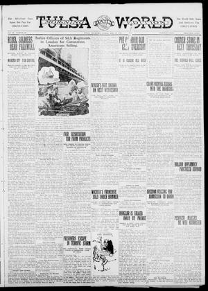 Primary view of object titled 'Tulsa Daily World (Tulsa, Okla.), Vol. 6, No. 208, Ed. 1 Sunday, May 21, 1911'.