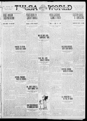 Primary view of object titled 'Tulsa Daily World (Tulsa, Okla.), Vol. 6, No. 209, Ed. 1 Tuesday, May 23, 1911'.