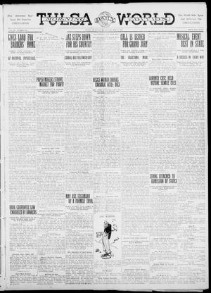 Primary view of object titled 'Tulsa Daily World (Tulsa, Okla.), Vol. 6, No. 210, Ed. 1 Wednesday, May 24, 1911'.