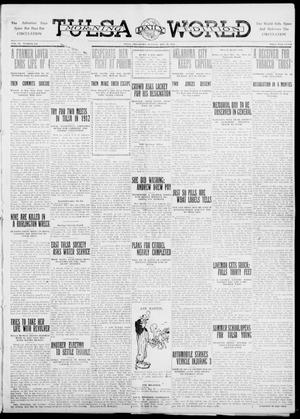 Primary view of object titled 'Tulsa Daily World (Tulsa, Okla.), Vol. 6, No. 215, Ed. 1 Tuesday, May 30, 1911'.