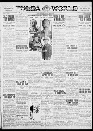 Primary view of object titled 'Tulsa Daily World (Tulsa, Okla.), Vol. 6, No. 222, Ed. 1 Saturday, June 3, 1911'.