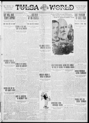Primary view of object titled 'Tulsa Daily World (Tulsa, Okla.), Vol. 6, No. 225, Ed. 1 Wednesday, June 7, 1911'.