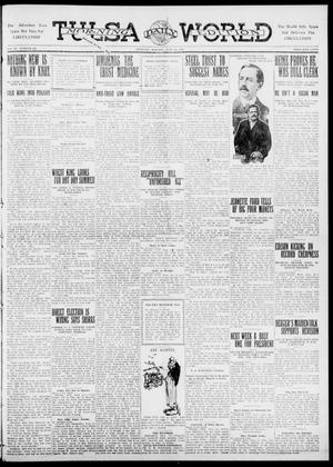 Primary view of object titled 'Tulsa Daily World (Tulsa, Okla.), Vol. 6, No. 232, Ed. 1 Thursday, June 15, 1911'.