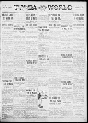 Primary view of object titled 'Tulsa Daily World (Tulsa, Okla.), Vol. 6, No. 236, Ed. 1 Tuesday, June 20, 1911'.