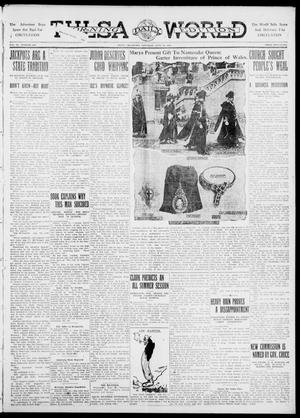 Primary view of object titled 'Tulsa Daily World (Tulsa, Okla.), Vol. 6, No. 240, Ed. 1 Saturday, June 24, 1911'.