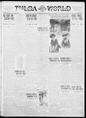 Primary view of object titled 'Tulsa Daily World (Tulsa, Okla.), Vol. 6, No. 244, Ed. 1 Thursday, June 29, 1911'.