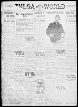 Primary view of object titled 'Tulsa Daily World (Tulsa, Okla.), Vol. 6, No. 246, Ed. 1 Saturday, July 1, 1911'.