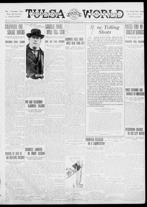 Primary view of object titled 'Tulsa Daily World (Tulsa, Okla.), Vol. 6, No. 247, Ed. 1 Sunday, July 2, 1911'.