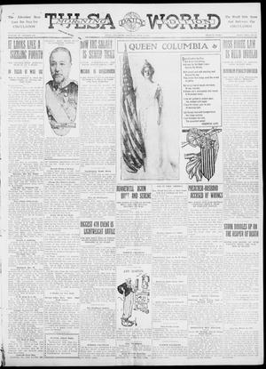 Primary view of object titled 'Tulsa Daily World (Tulsa, Okla.), Vol. 6, No. 248, Ed. 1 Tuesday, July 4, 1911'.