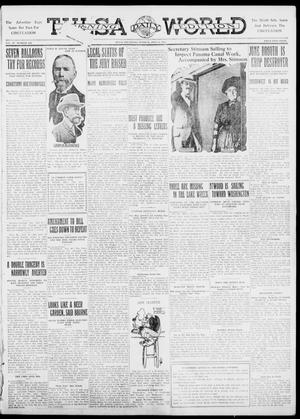 Primary view of object titled 'Tulsa Daily World (Tulsa, Okla.), Vol. 6, No. 254, Ed. 1 Tuesday, July 11, 1911'.