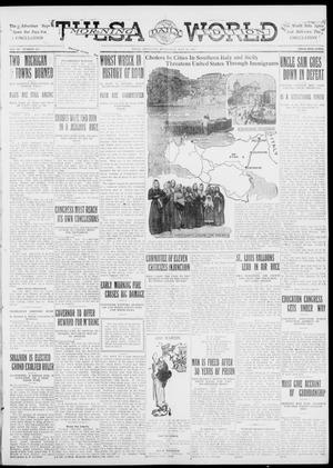 Primary view of object titled 'Tulsa Daily World (Tulsa, Okla.), Vol. 6, No. 255, Ed. 1 Wednesday, July 12, 1911'.