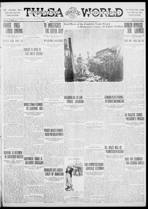 Primary view of object titled 'Tulsa Daily World (Tulsa, Okla.), Vol. 6, No. 257, Ed. 1 Friday, July 14, 1911'.