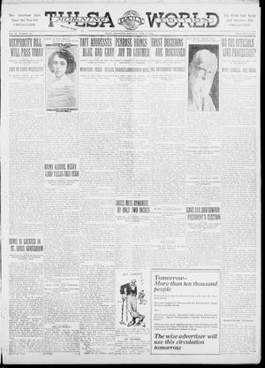 Primary view of object titled 'Tulsa Daily World (Tulsa, Okla.), Vol. 6, No. 264, Ed. 1 Saturday, July 22, 1911'.