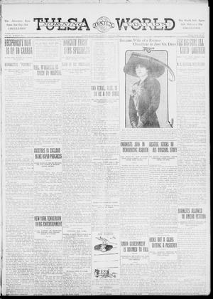 Primary view of object titled 'Tulsa Daily World (Tulsa, Okla.), Vol. 6, No. 265, Ed. 1 Sunday, July 23, 1911'.