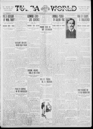 Primary view of object titled 'Tulsa Daily World (Tulsa, Okla.), Vol. 6, No. 269, Ed. 1 Friday, July 28, 1911'.