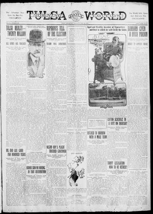 Primary view of object titled 'Tulsa Daily World (Tulsa, Okla.), Vol. 6, No. 270, Ed. 1 Saturday, July 29, 1911'.