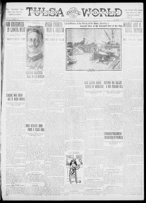 Primary view of object titled 'Tulsa Daily World (Tulsa, Okla.), Vol. 6, No. 271, Ed. 1 Sunday, July 30, 1911'.
