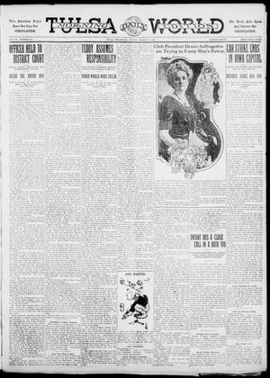 Primary view of object titled 'Tulsa Daily World (Tulsa, Okla.), Vol. 6, No. 277, Ed. 1 Sunday, August 6, 1911'.