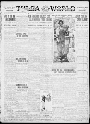 Primary view of object titled 'Tulsa Daily World (Tulsa, Okla.), Vol. 6, No. 286, Ed. 1 Wednesday, August 16, 1911'.