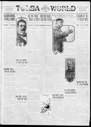 Primary view of object titled 'Tulsa Daily World (Tulsa, Okla.), Vol. 6, No. 291, Ed. 1 Tuesday, August 22, 1911'.