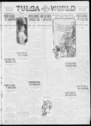 Primary view of object titled 'Tulsa Daily World (Tulsa, Okla.), Vol. 6, No. 292, Ed. 1 Wednesday, August 23, 1911'.