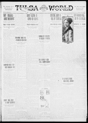 Primary view of object titled 'Tulsa Daily World (Tulsa, Okla.), Vol. 6, No. 293, Ed. 1 Thursday, August 24, 1911'.