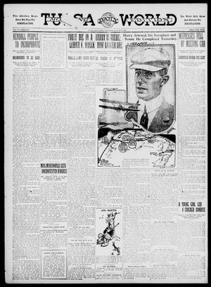 Primary view of object titled 'Tulsa Daily World (Tulsa, Okla.), Vol. 6, No. 295, Ed. 1 Saturday, August 26, 1911'.