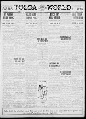 Primary view of object titled 'Tulsa Daily World (Tulsa, Okla.), Vol. 6, No. 298, Ed. 1 Wednesday, August 30, 1911'.