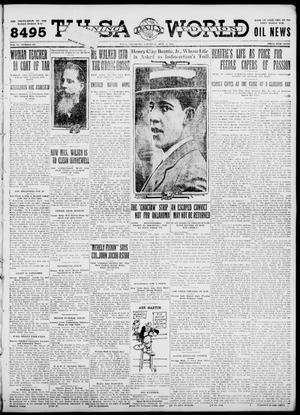 Primary view of object titled 'Tulsa Daily World (Tulsa, Okla.), Vol. 6, No. 307, Ed. 1 Saturday, September 9, 1911'.