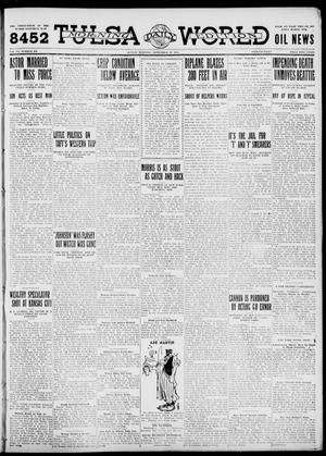Primary view of object titled 'Tulsa Daily World (Tulsa, Okla.), Vol. 6, No. 308, Ed. 1 Sunday, September 10, 1911'.