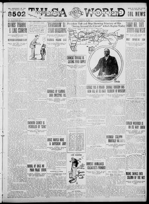 Primary view of object titled 'Tulsa Daily World (Tulsa, Okla.), Vol. 6, No. 312, Ed. 1 Friday, September 15, 1911'.
