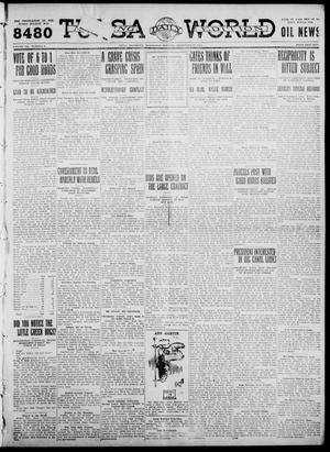 Primary view of object titled 'Tulsa Daily World (Tulsa, Okla.), Vol. 7, No. 3, Ed. 1 Wednesday, September 20, 1911'.