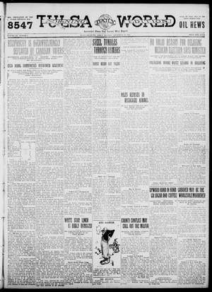 Primary view of object titled 'Tulsa Daily World (Tulsa, Okla.), Vol. 7, No. 5, Ed. 1 Friday, September 22, 1911'.