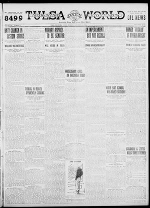 Primary view of object titled 'Tulsa Daily World (Tulsa, Okla.), Vol. 7, No. 7, Ed. 1 Sunday, September 24, 1911'.