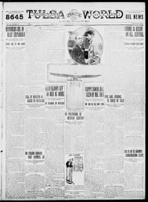 Primary view of object titled 'Tulsa Daily World (Tulsa, Okla.), Vol. 7, No. 8, Ed. 1 Tuesday, September 26, 1911'.